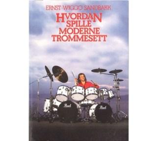 Hvordan spille moderne trommesett bok + CD