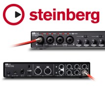 Steinberg - UR44, USB Audio Interface m/FX