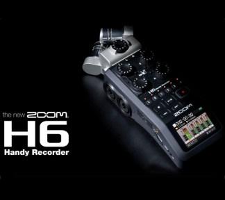 Zoom - H6, Handy Recorder