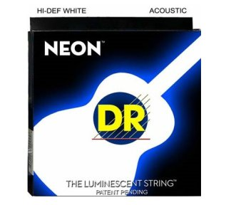 DR - Neon White Acoustic 11-50(NWA11)