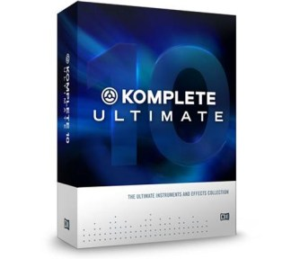 Native Instruments - Komplete 10 Ultimate (440GB/leveres på HD)