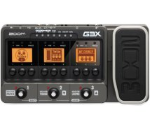 Zoom - G3X, Gitar Effektpedal og Amp Simulator