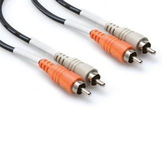 Hosa - Dual cable phono/phono 3m (CRA203)