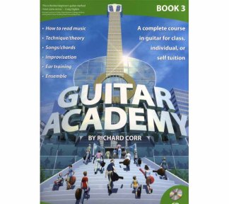 Richard Corr - Guitar Academy, Book 3