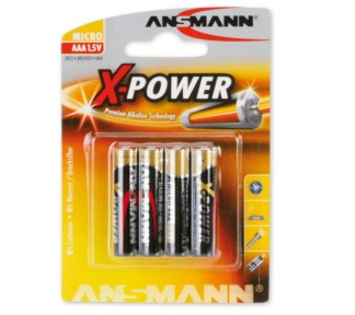 Ansmann - Batteri Lr 03 Aaa 1,5 V X-Power