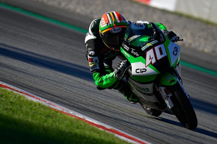 Darryn Binder con la KTM CIP Green Power