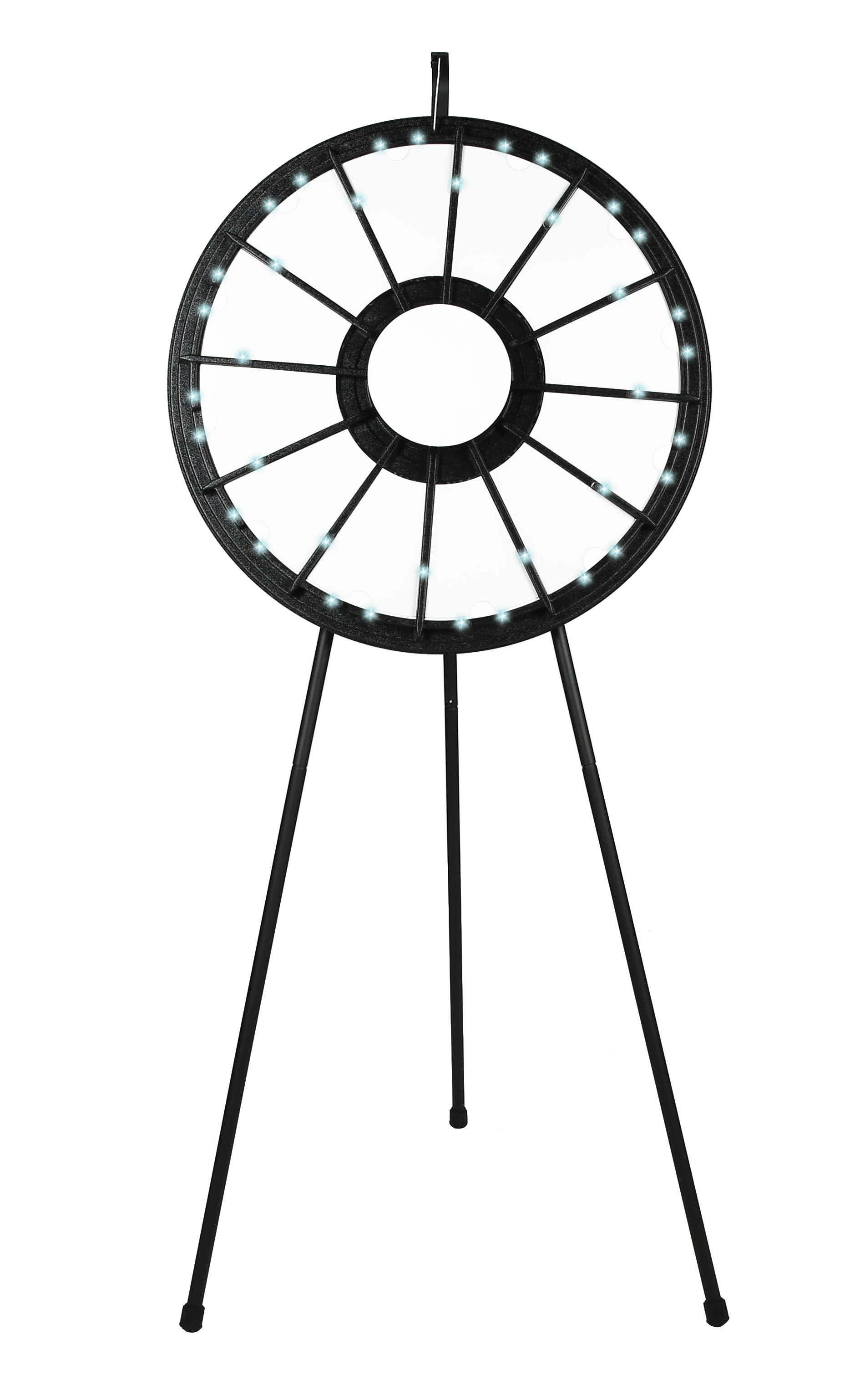 12 Slot Floor Classic Prize Wheel With Lights