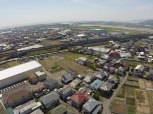 富士川河口方向