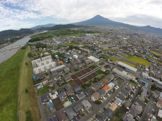 富士山笠雲