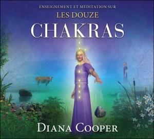 12 chakras, Diana Cooper, brins d'ADN, méditation, pouvoirs sacrés, Atlantide