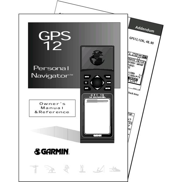 Garmin GPS 12 Manual English