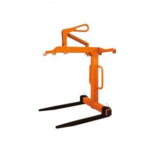 Eichinger Crane Forks with safety restraint net option