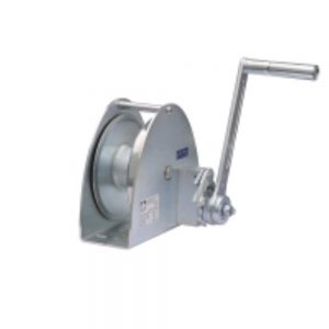 Haacon KWV Base Mount Hand Winch zinc plated