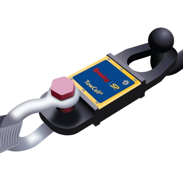 Straightpoint 25kN Bluetooth Towcell load cell