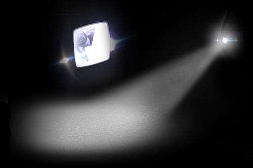 Luz frontal de uniciclo InMotion