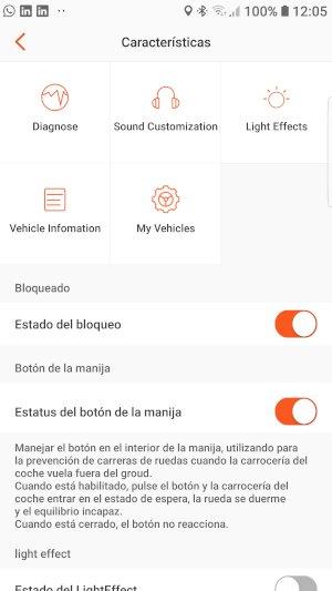 App Inmotion Configuración