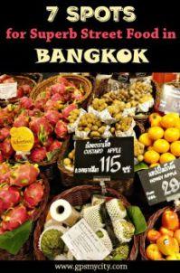 7 Spots for Superb Street Food in Bangkok