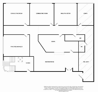 Rutherglen Health Centre Floorplan - GP Surveyors