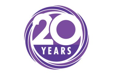 GP Surveyors 20 years logo