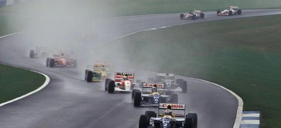 A melhor ultrapassagem, a melhor primeira volta e a melhor corrida de Senna