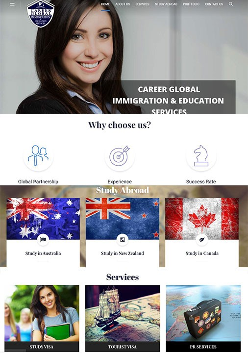 career global immigration