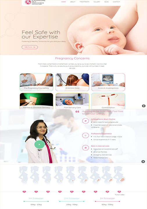 Doctor Website Development