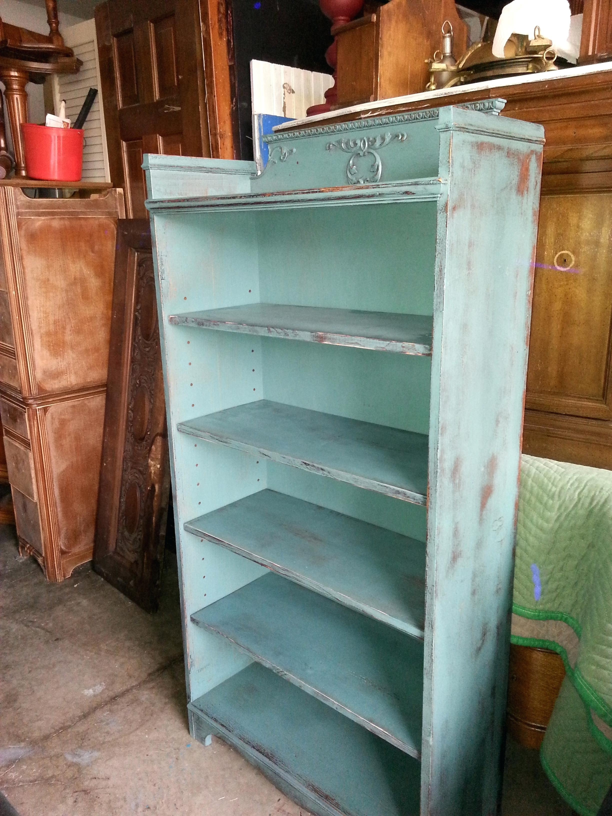 15 Best Collection Of Distressed Bookcases