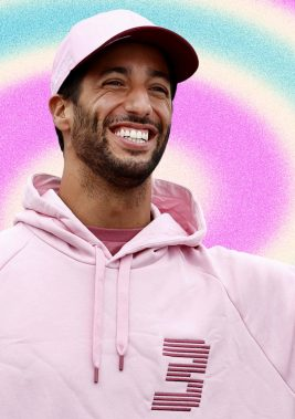 The Real-Life Diet of F1 Driver Daniel Ricciardo, Who Has Developed an Extremely Strong NeckChristopher CasonGQ