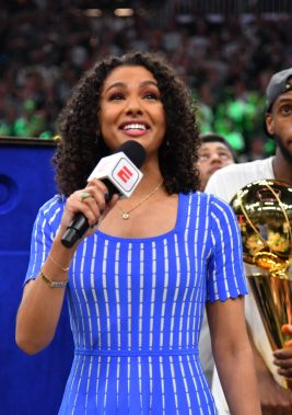 How ESPN's Malika Andrews Went from Bubble Breakout to NBA Today HostClay SkipperGQ