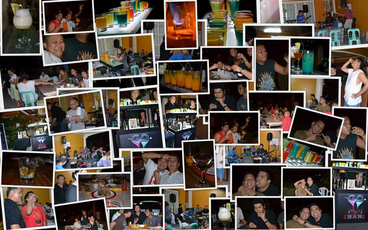 Birthday Celebration, Ms. Apryl Cinconiegue, Mobile Bar