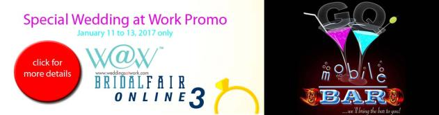 Wedding At Work Online Bridal Fair Promo