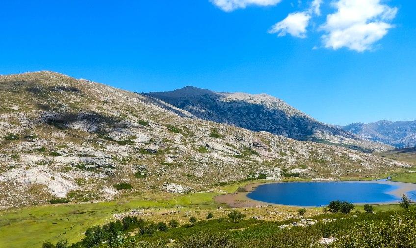 GR20 Etappe 7 - Lac de Nino 1743m