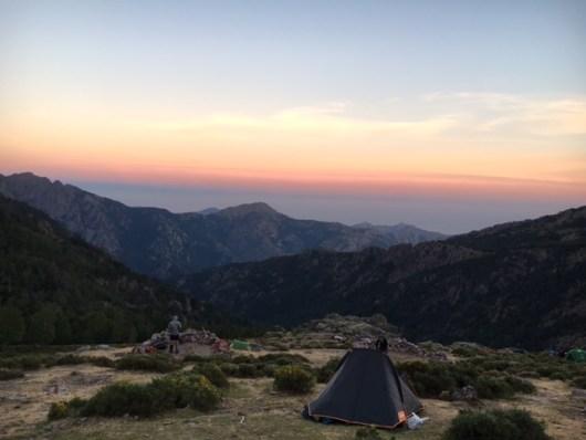 Saulėlydis Korsikos