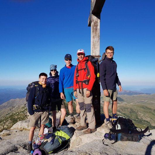 Monte Incudine, Corse : 2.134 mètres d'altitude