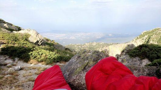 Bivouac vue sur mer - Corse