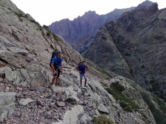 Sentiero escursionistico GR20 - Corsica