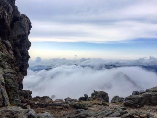 La tête dans les nuages - GR20