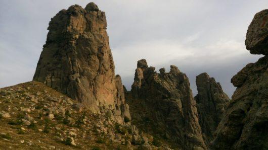 A travers la montagne Corse
