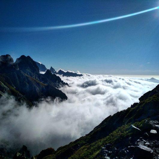 GR20 - au dessus des nuages