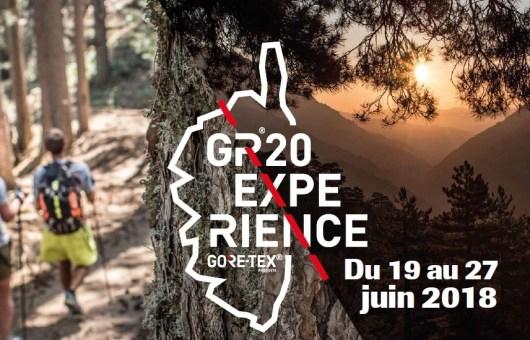 GR®20 EXPÉRIENCE GORE-TEX® - 2018