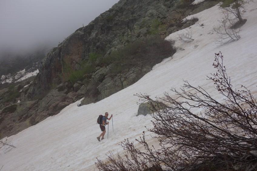 snowfields on GR20