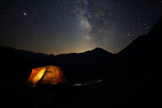 Francesco Cintori - Bivouac - GR20 de nuit
