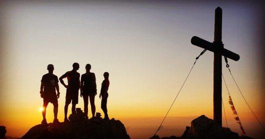 Joseph Sauli - Coucher de soleil - Monte Astu - Corse