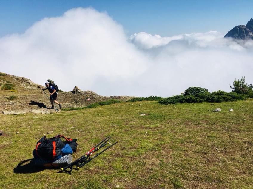 Au dessus des nuages - Corse