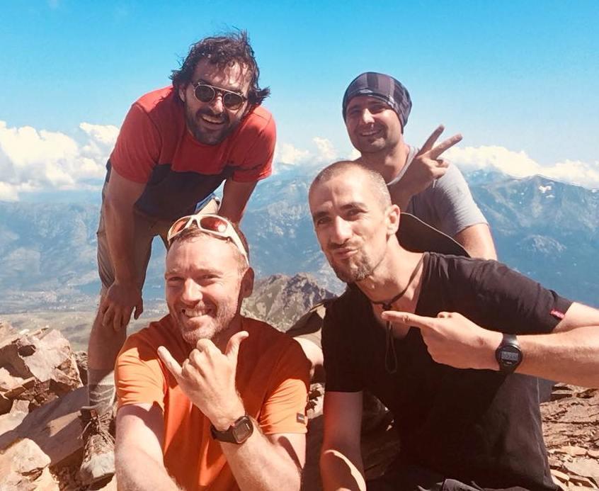 Paul et ses amis - GR20