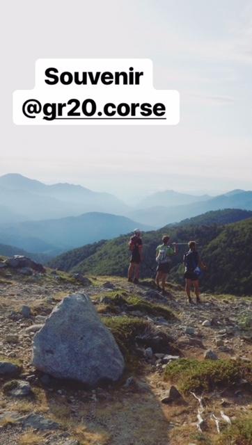Souvenirs GR20 Corse - Abel