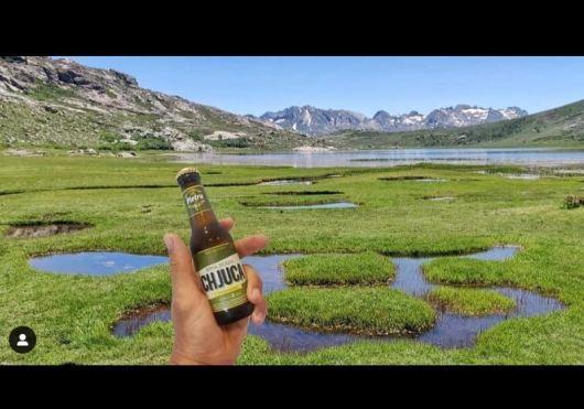 Souvenir au lac de Ninu pendant notre GR20 - Corentin