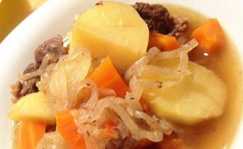 【ヒルナンデス】坦々風肉じゃがのレシピ!美虎の五十嵐シェフ