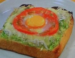 しらすトースト