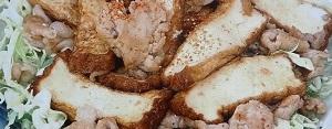厚揚げと豚肉のしょうが焼きのレシピ【あさイチ】by瀬尾幸子